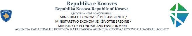 KCA Kosovo Geportal